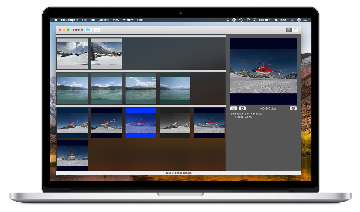 PixCompare 5.0 for macOS - Major update released Image
