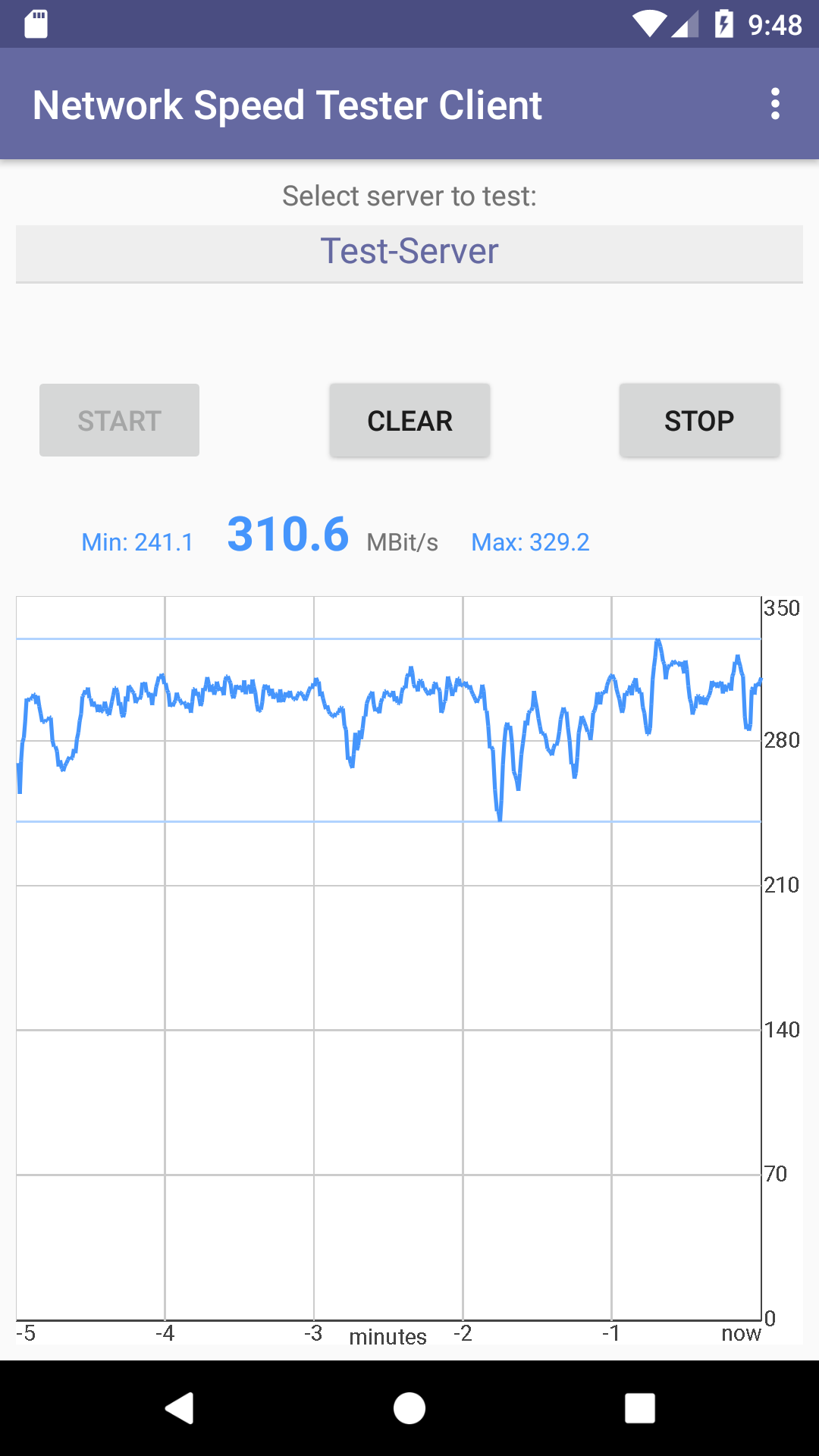 Network Speed Tester - Lakehorn