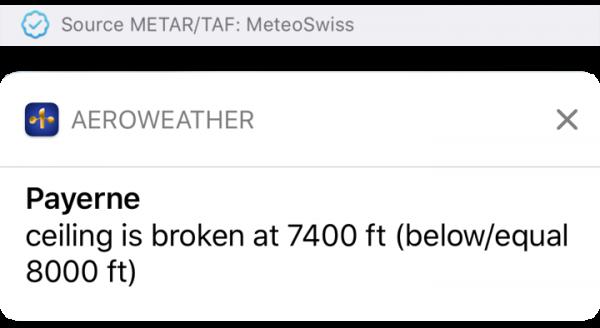 AeroWeather Pro - TAF/METAR/NOTAMS  Made for pilots