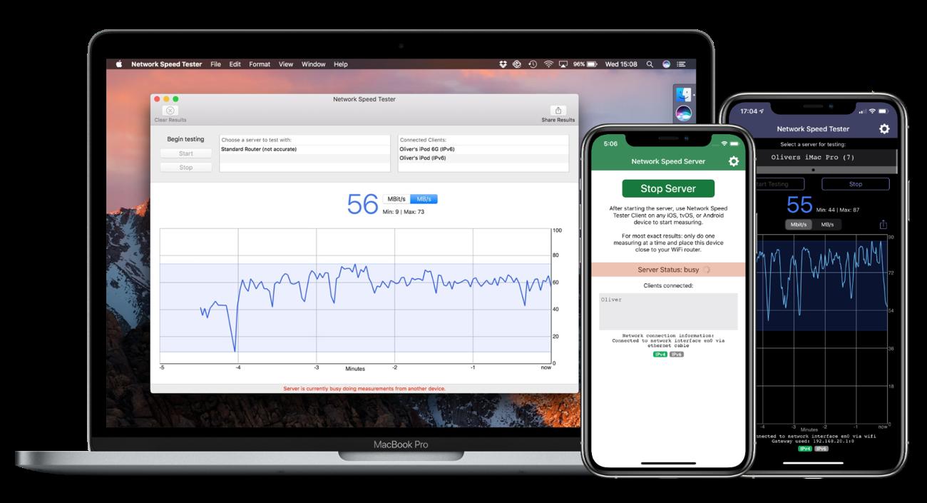 Network Speed Tester – Lakehorn